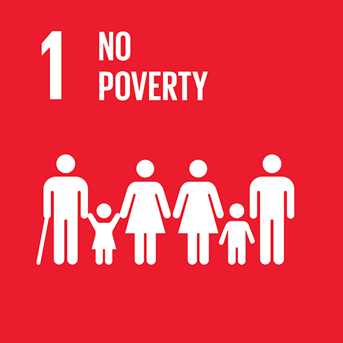 SDG goal 1 – No poverty