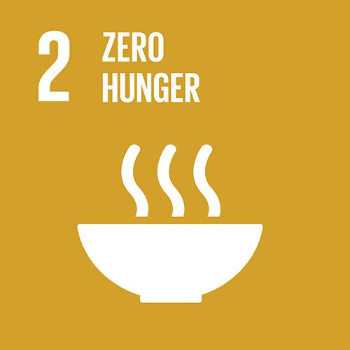SDG goal 2 – Zero hunger