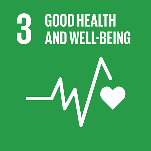 SDG goal 3 – Good health and well-being