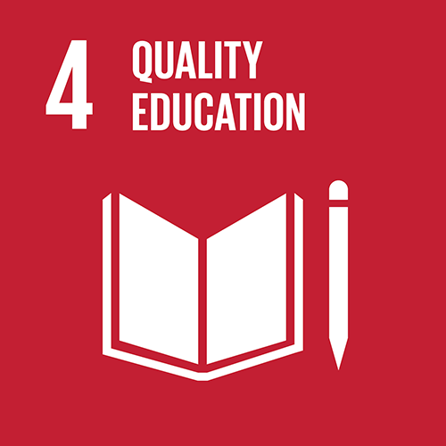 SDG goal 4 – Quality education