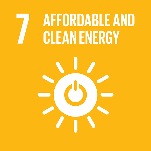 SDG goal 7 – Affordable and clean energy