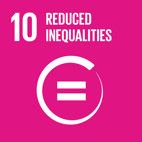 SDG goal 10 – Reduced inequalities