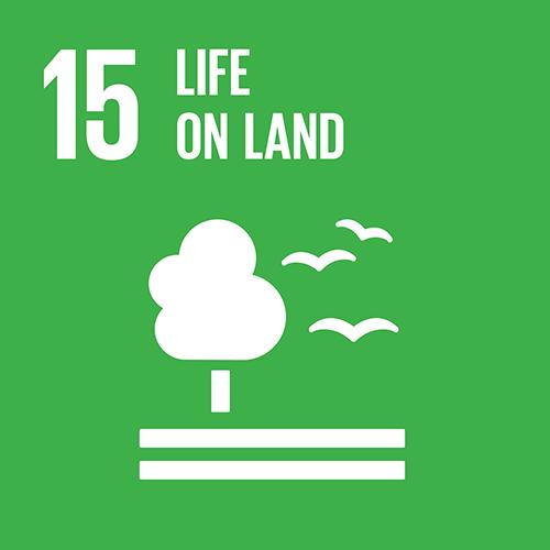 SDG goal 15 – Life on land